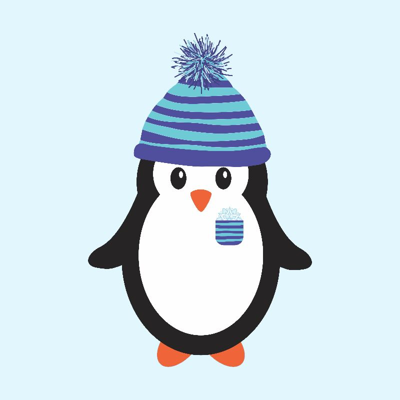 Pocket Snowflake Penguin
