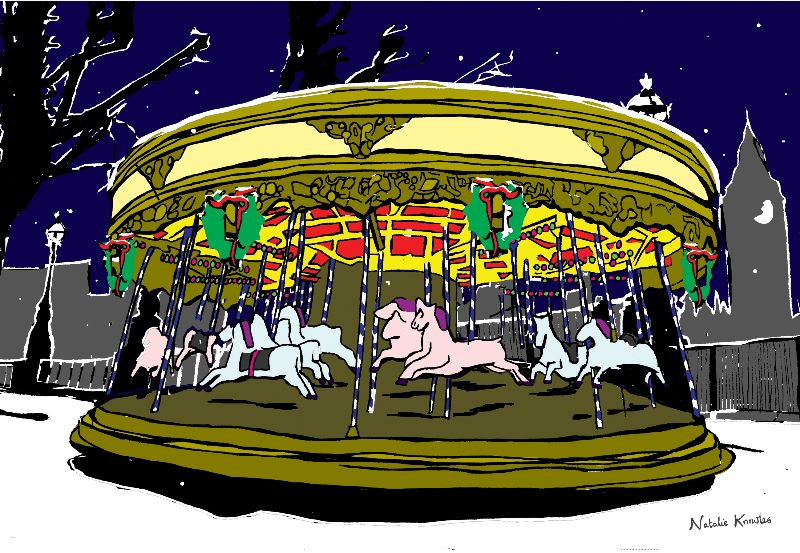 Carousel on the Southbank