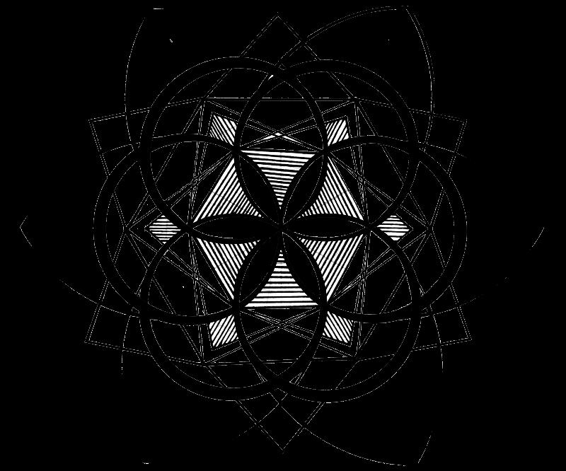 Geometric Mandala Print