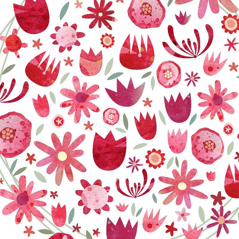 Summer Flower Watercolour