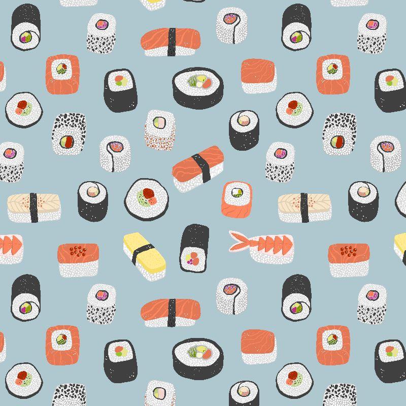 Sushi Maki Nagiri Art