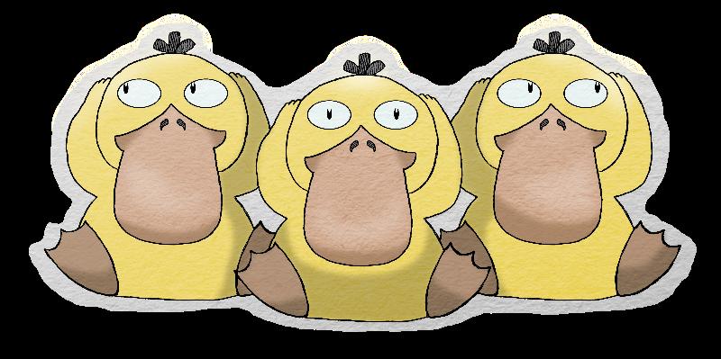 Three Wise Ducks