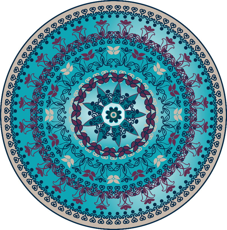 Aqua Mandala