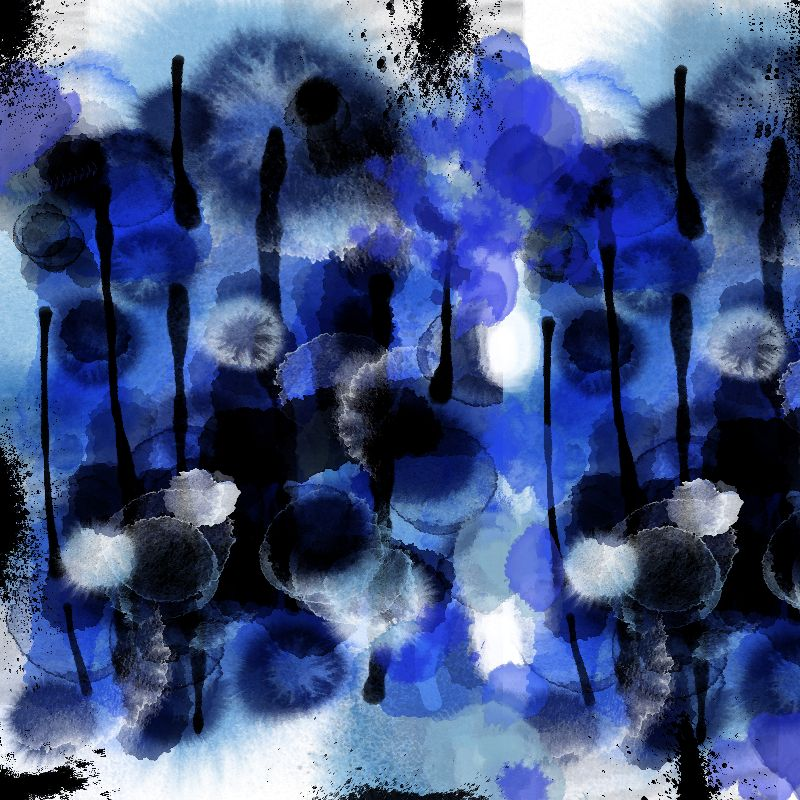 Blues Abstract