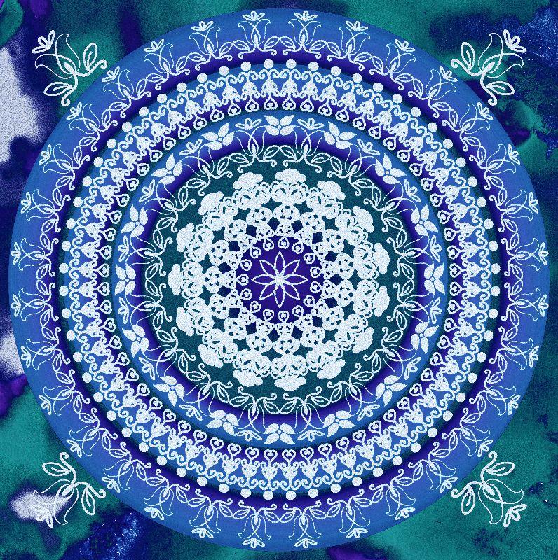 Delft Blue Mandala