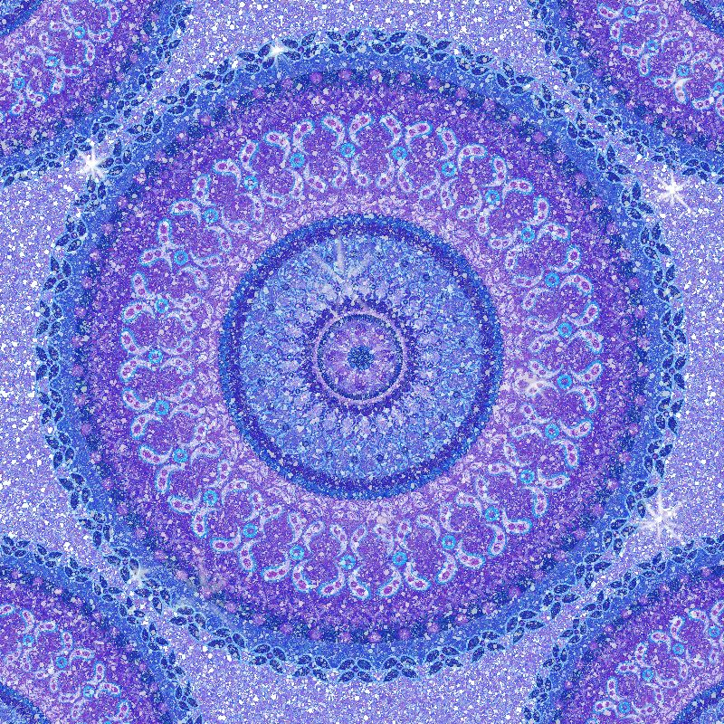 Purple Crystal Paisley Ma