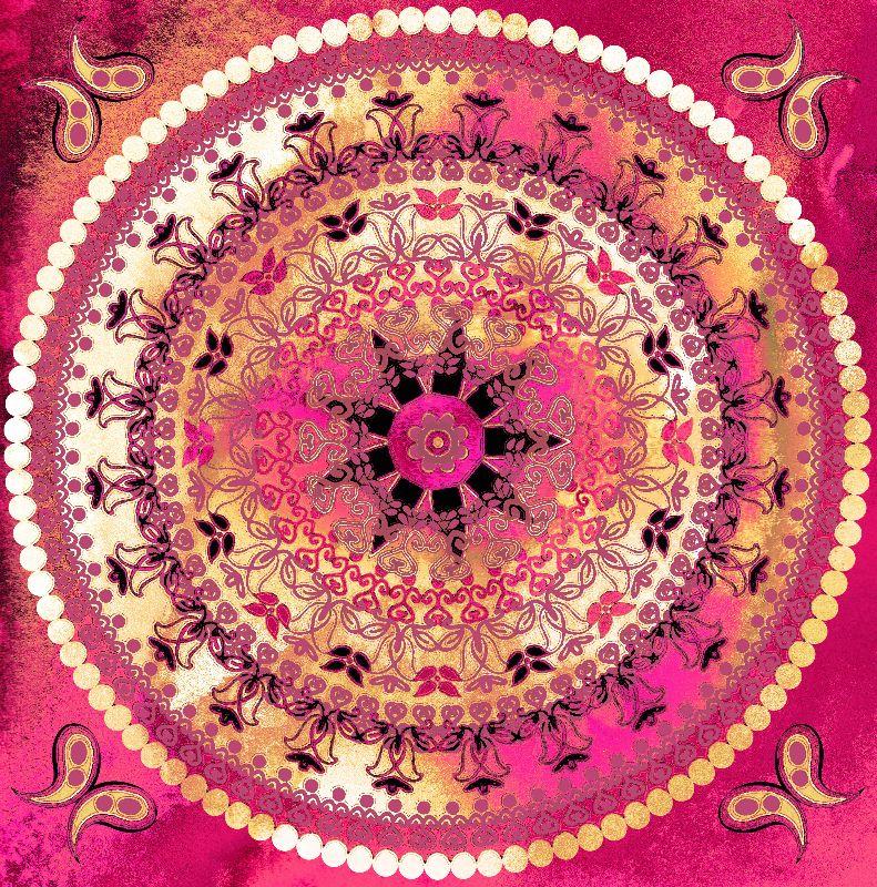 Raspberry Mandala