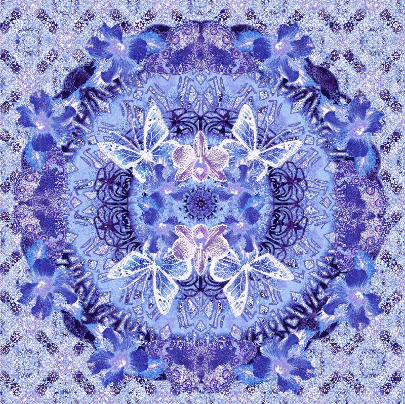 Victoria Mandala Lavender