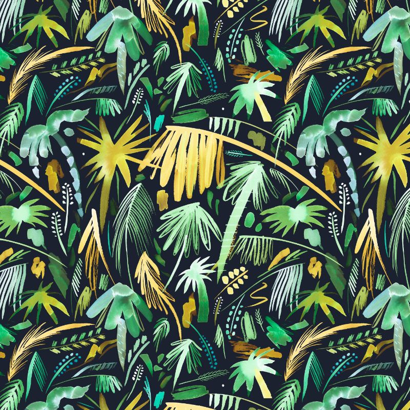 Expressive Tropical Palms