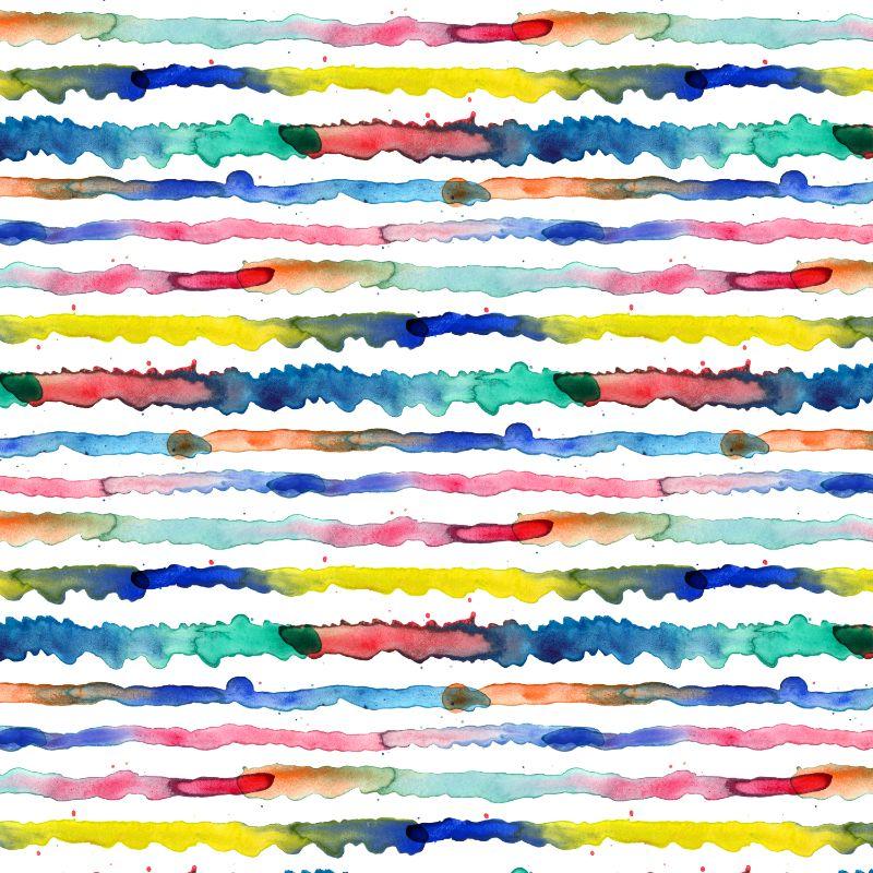 Gradient Watercolor Lines