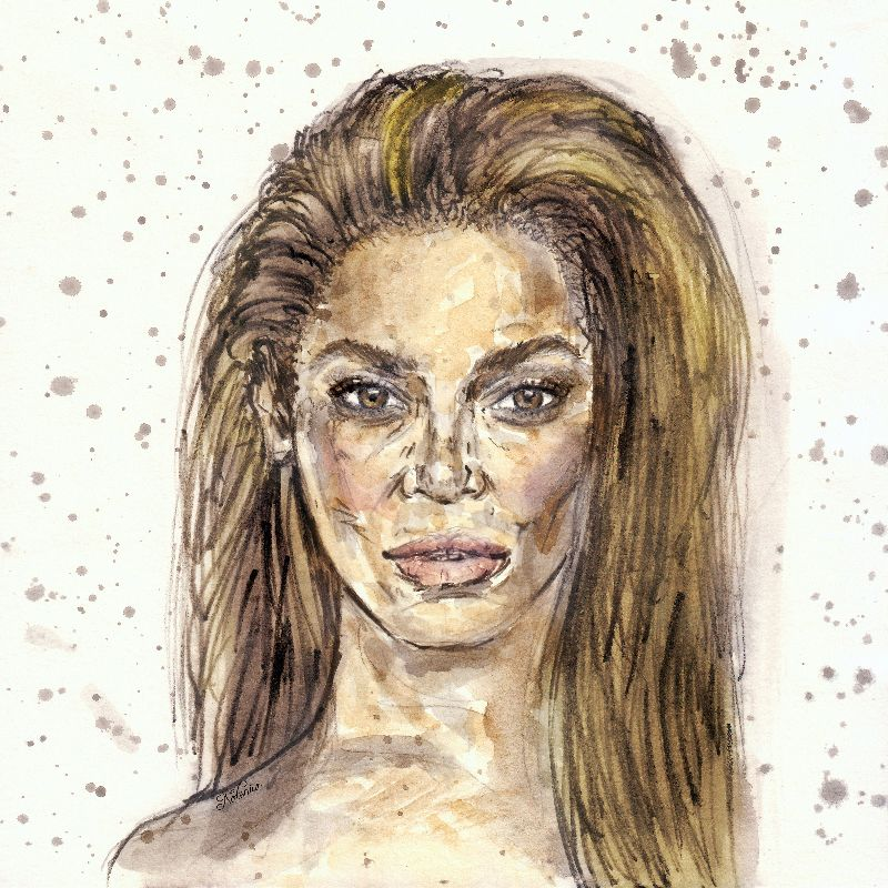 Beyonce in Color