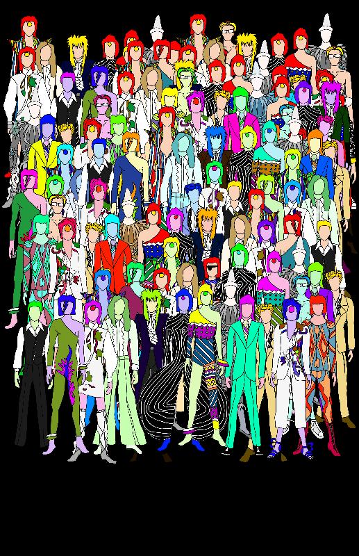 Bowie Punks in Tokyo