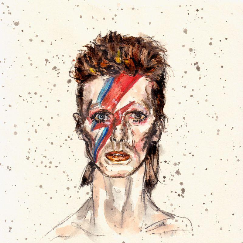 David Bowie in Color