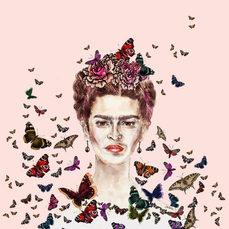 Frida Kahlo Butterflies