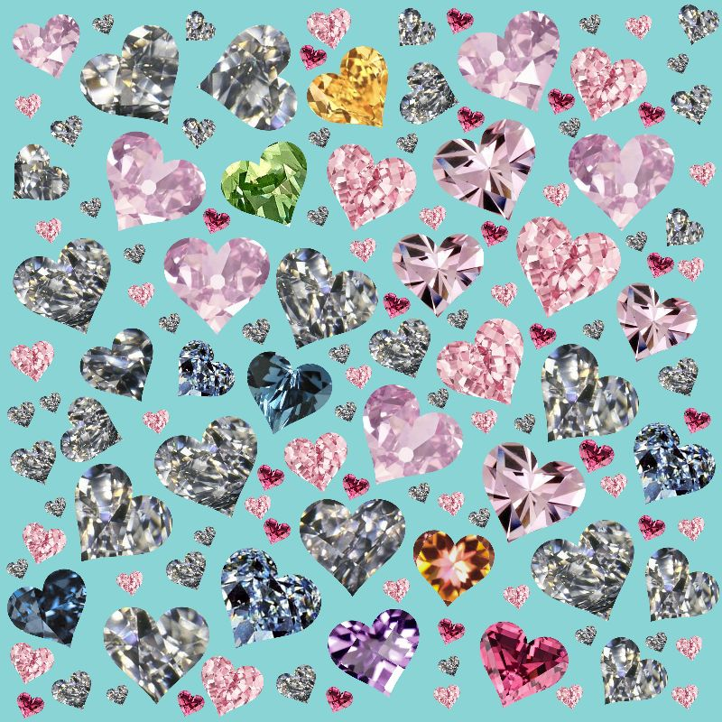 Heart Diamond 4ever LOVE