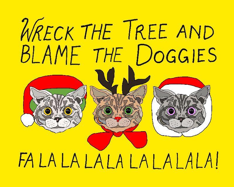 Holiday Cat Brats