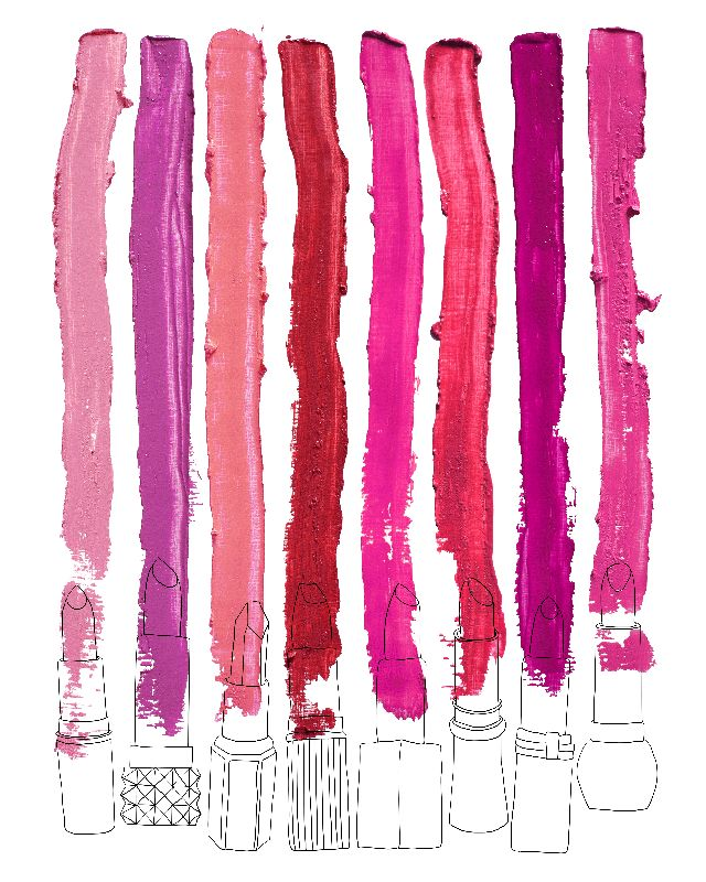 Lipstick Stripes 1
