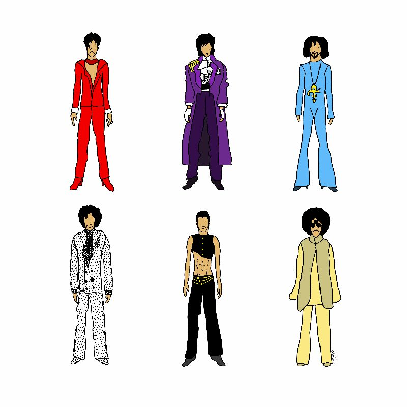 Outfits of Prince Fashion