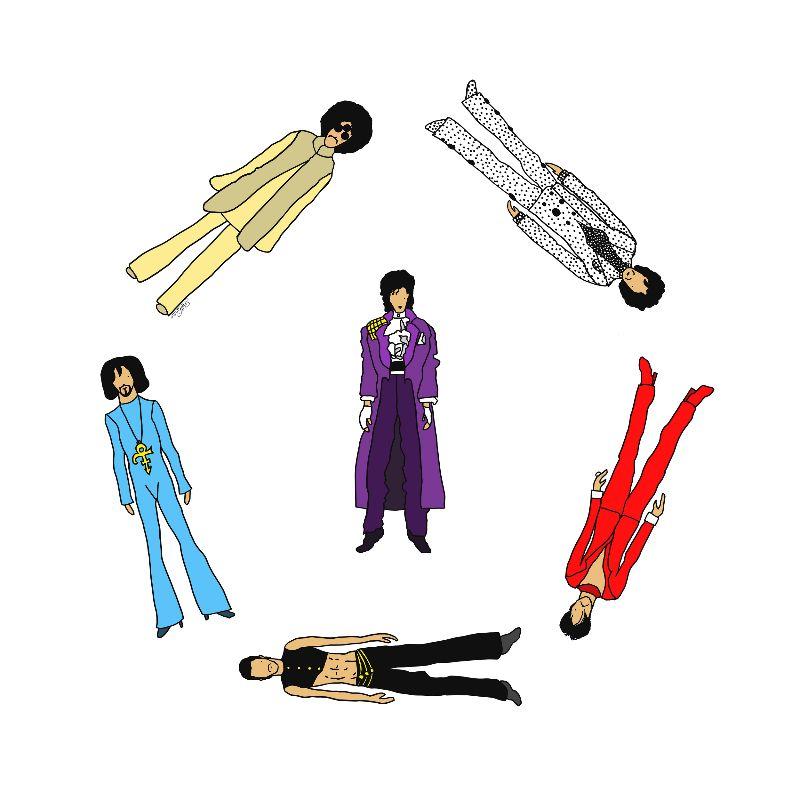 Prince Purple Rain Circle