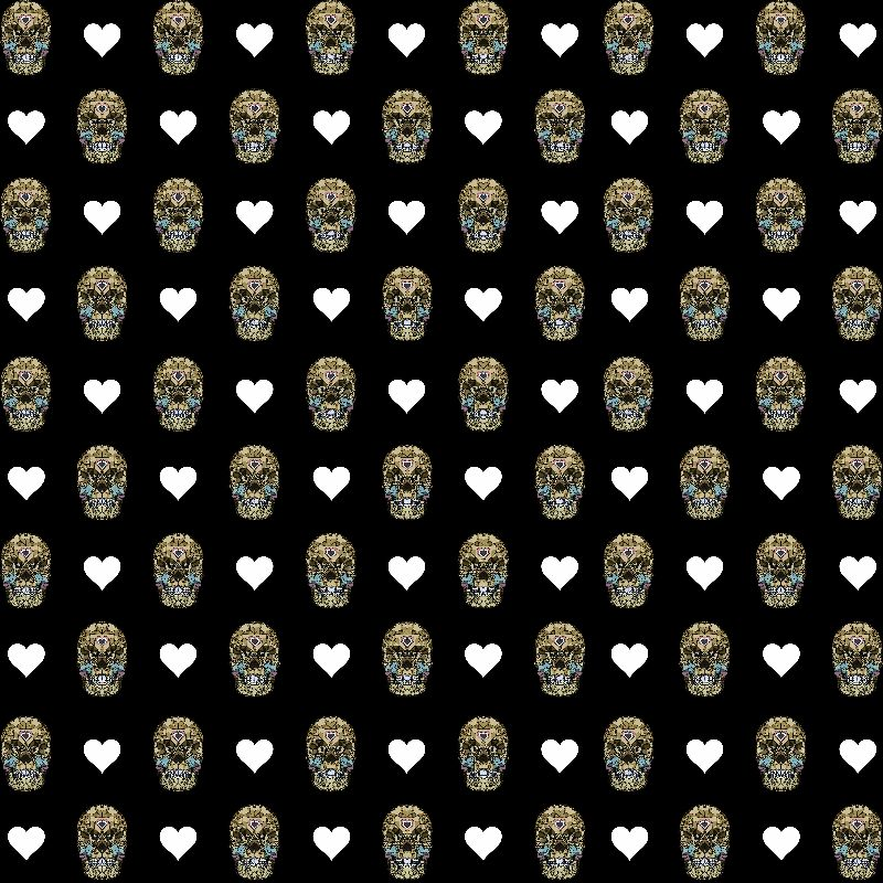 Skulls Hearts Goth