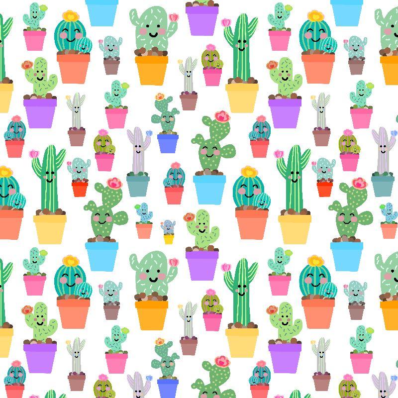 Sunny Happy Cacti