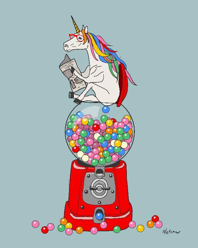 Unicorn Gumball Poop