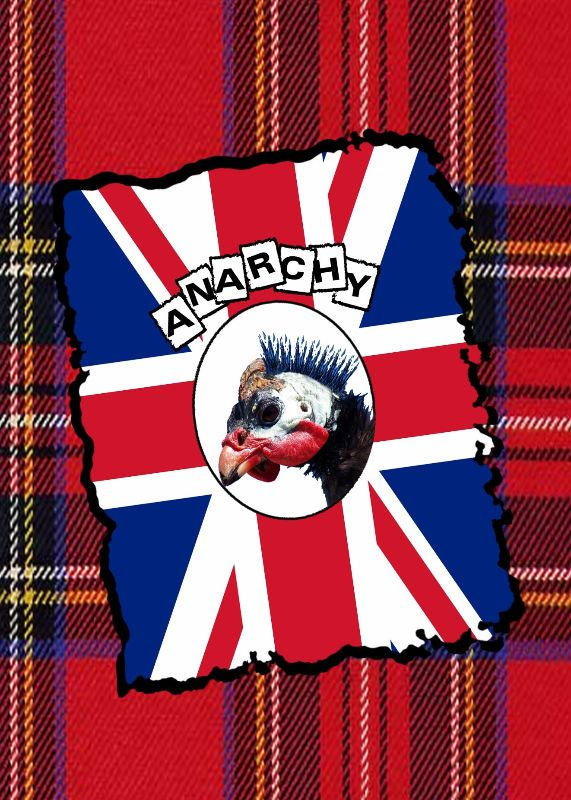 Funny British Punk flag