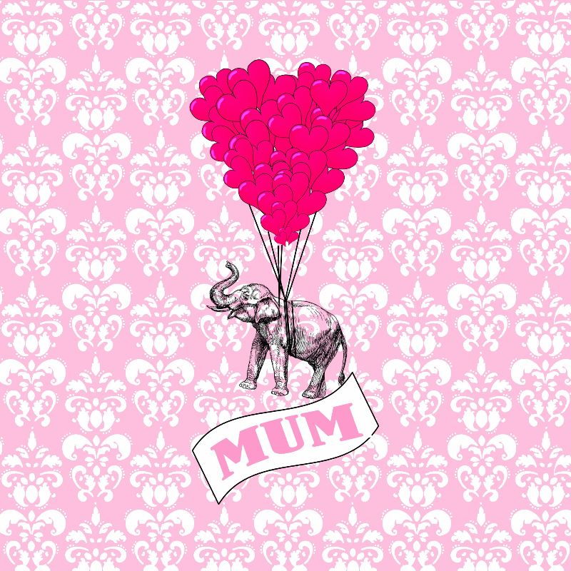 Love mum heart