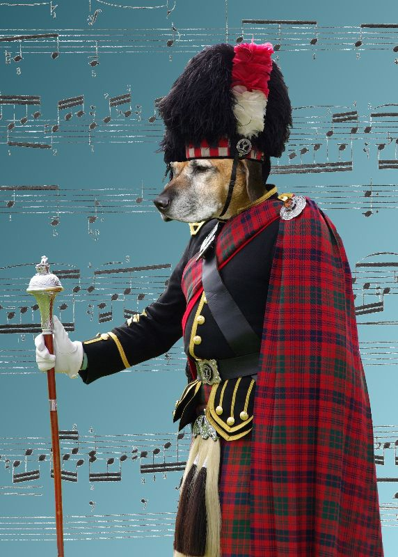 Scottish pipe major