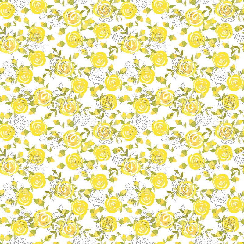 Yellow roses by Paloma Na