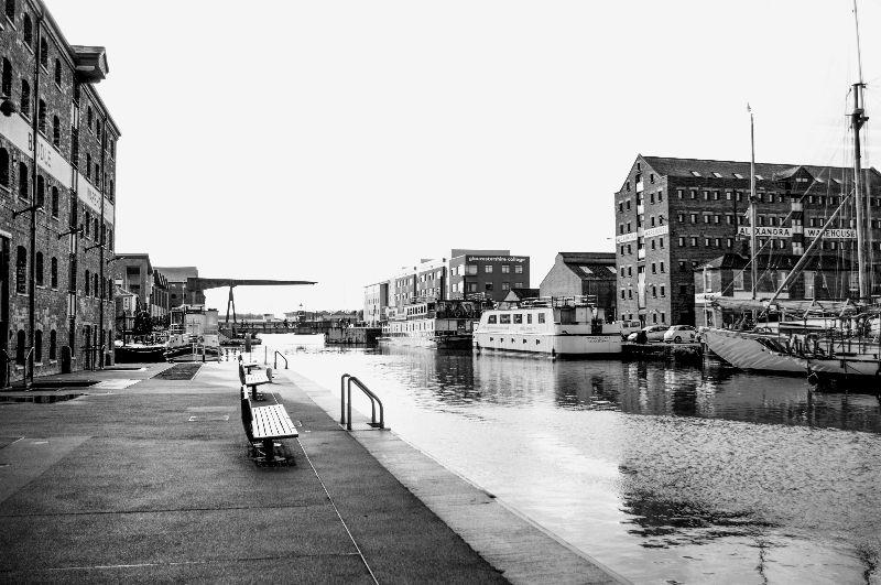 Gloucester Docks  Canal