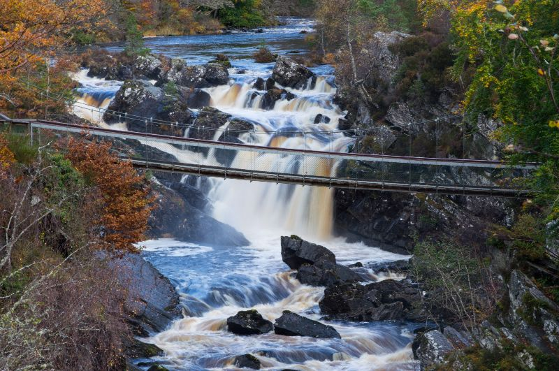 Rogie Falls Highlands