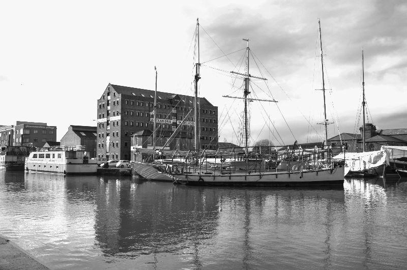 Tall Ship at Gloucester