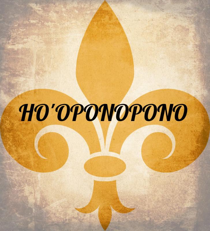 HOOPONOPONO Fluer De Lis