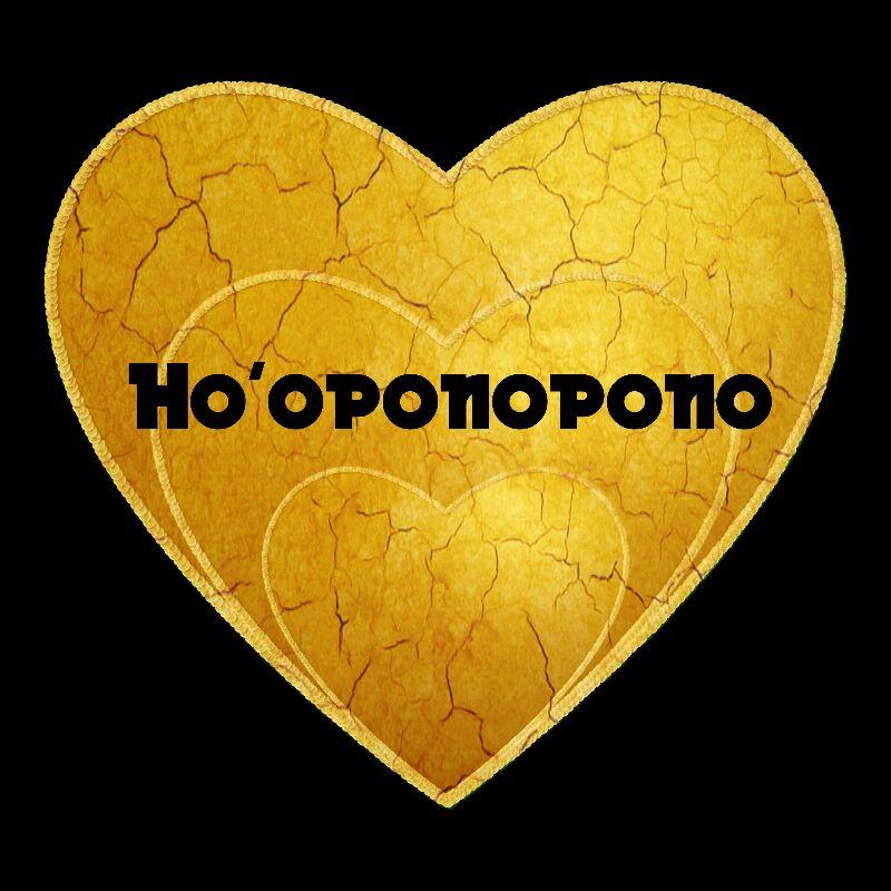 HOOPONOPONO Gold Heart