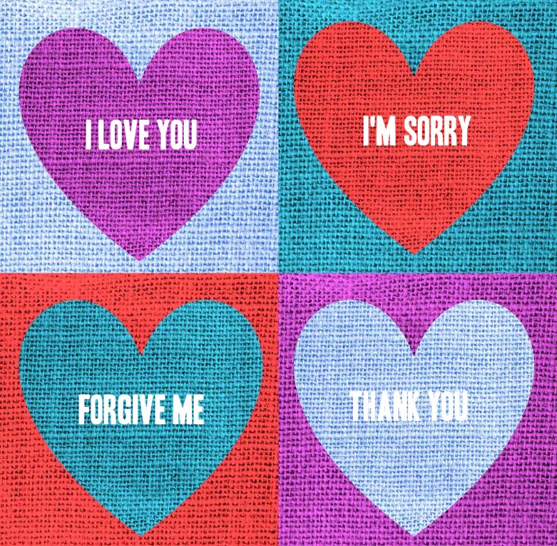 Ho Hearts Four Phrases