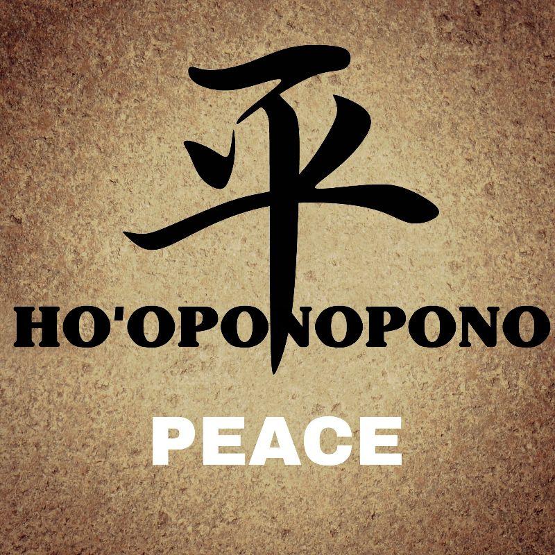 Hooponopono Peace Symbol