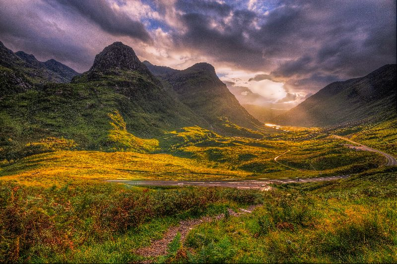 The three sisters of Glen