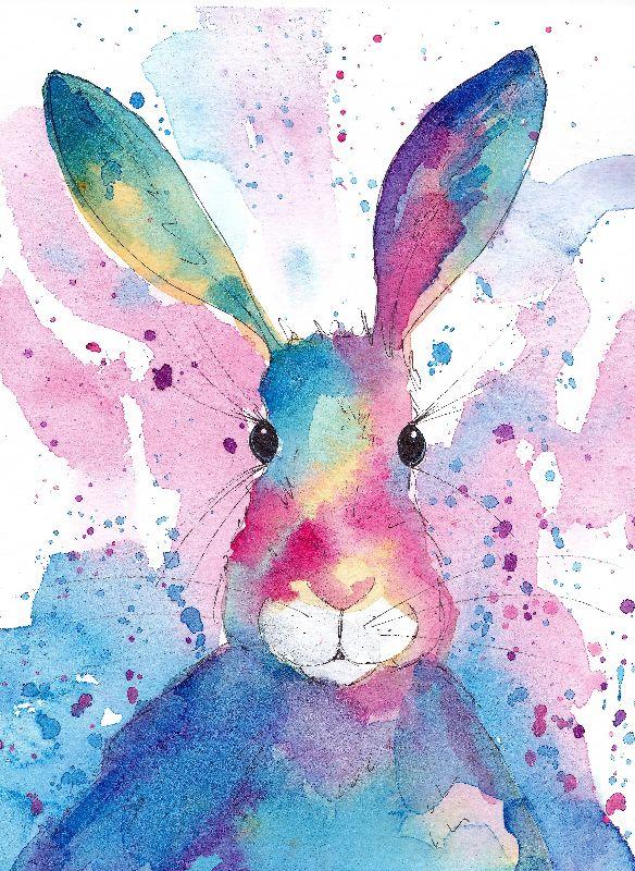 Vibrant Bunny