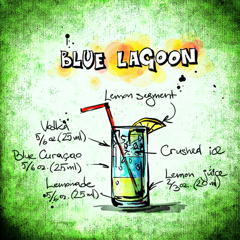 Blue Lagoon Drink Recipe