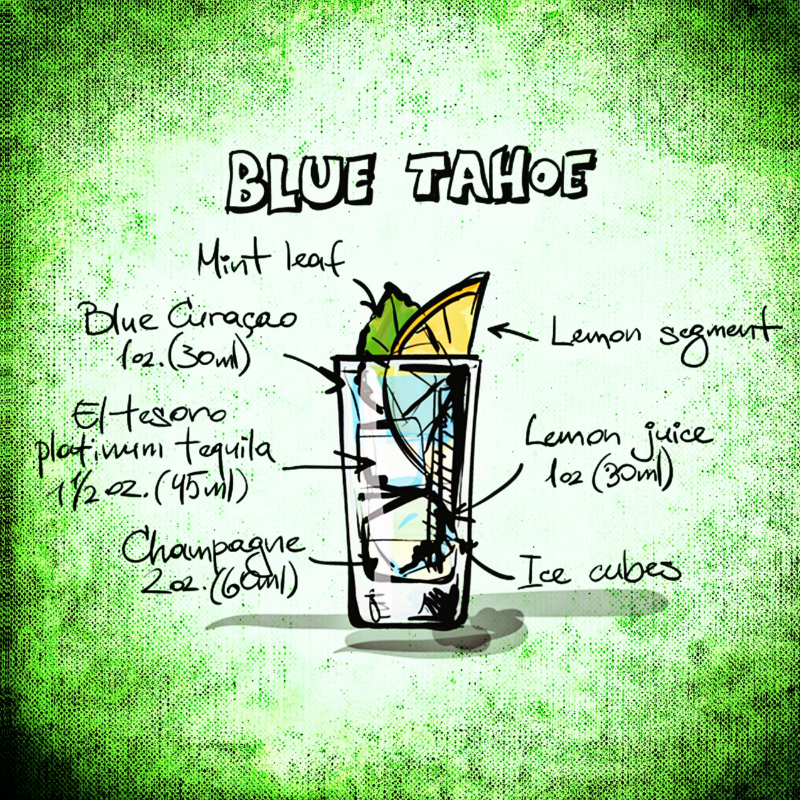 Blue Tahoe Drink Recipe