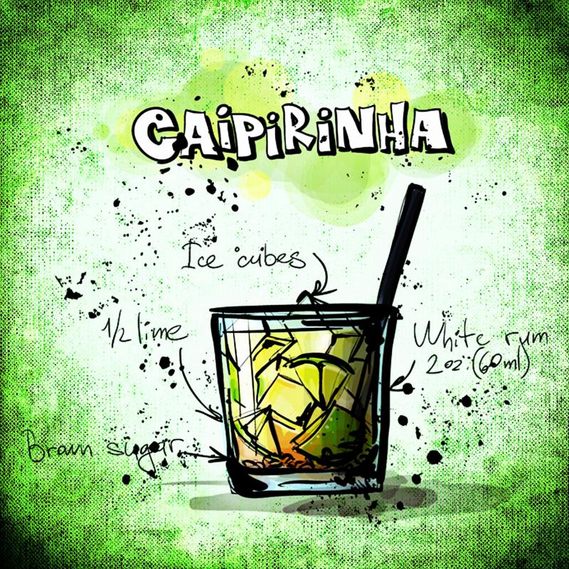Caipirinia Drink Recipe