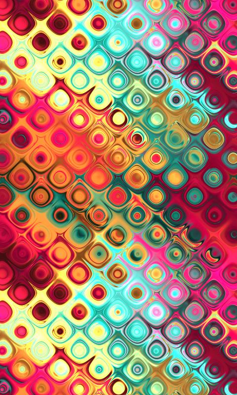 Liquid Rainbow Dots