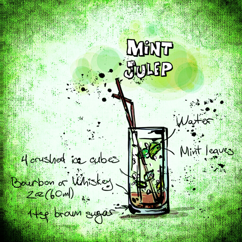Mint Julep Drink Recipe