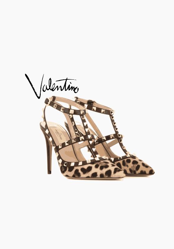 Leopard Valentino Print
