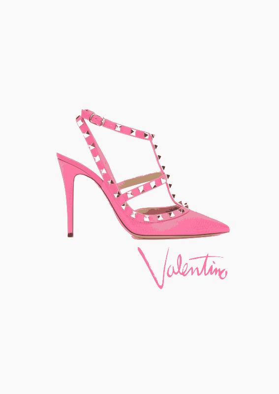 Valentino Fashion Print