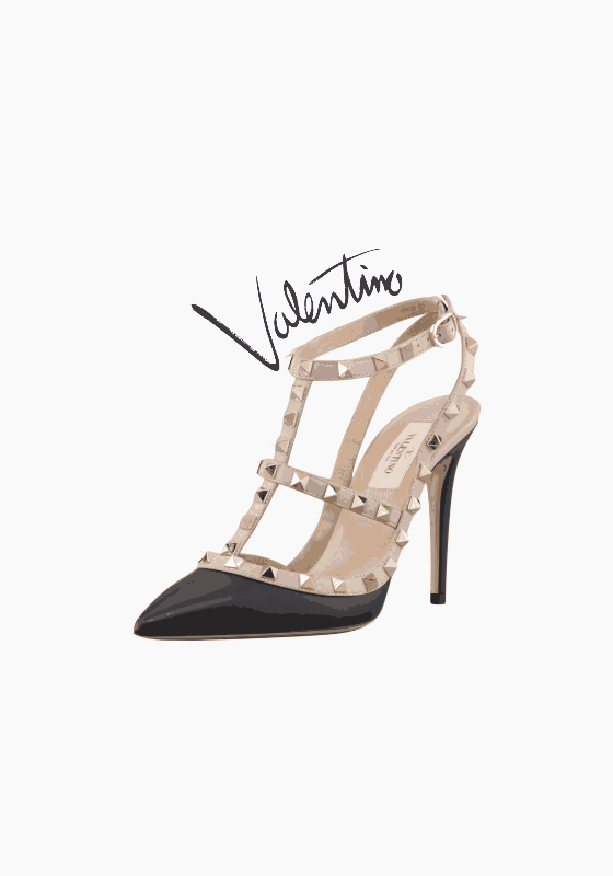 Valentino Rockstud Print
