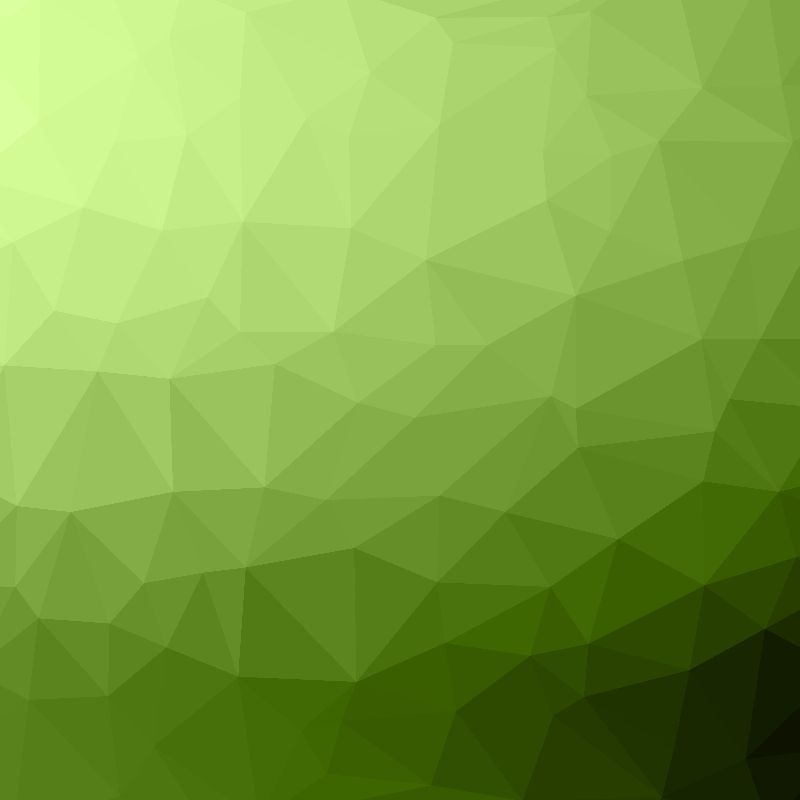 Greenery ombre geometric