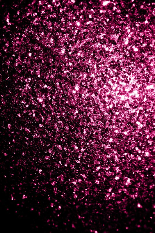 Pink glitter sparkles