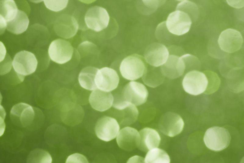 Sparkly Greenery Bokeh